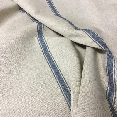 Slate Blue Land Stripe Linen