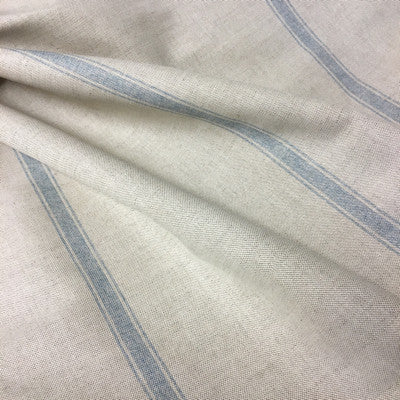 Nordic Blue Land Stripe Linen