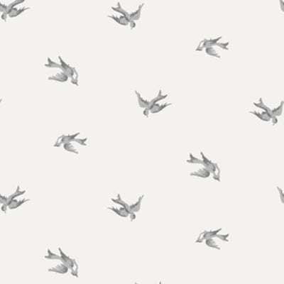 Light Grey Skylark Wallpaper