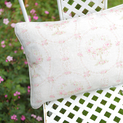 Apple Orchard Piped Oblong Cushion