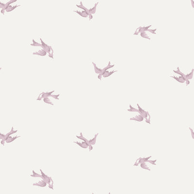 Rose Pink Skylark Wallpaper