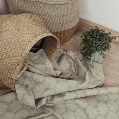 Fern Blotch Mini Anoushka Linen