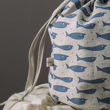 Little Fishes Drawstring Washbags | Assorted Colours