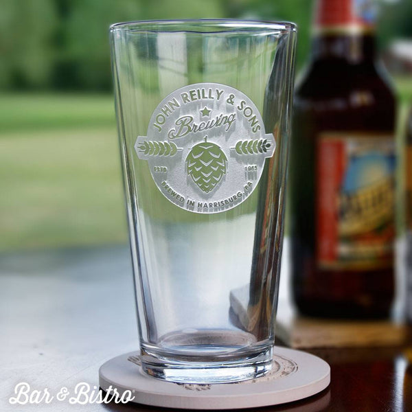 Barware - Brewing Company Pint Glass