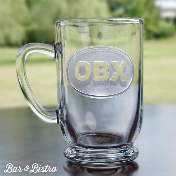 Barware - Classic Oval Monogram Coffee Mug