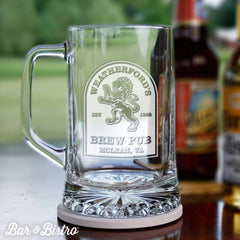 Barware - Rampant Lion Beer Mug