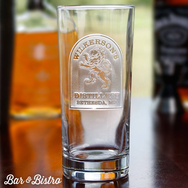Barware - Rampant Lion Cooler Glass