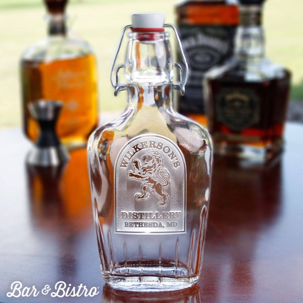 Barware - Rampant Lion Flask