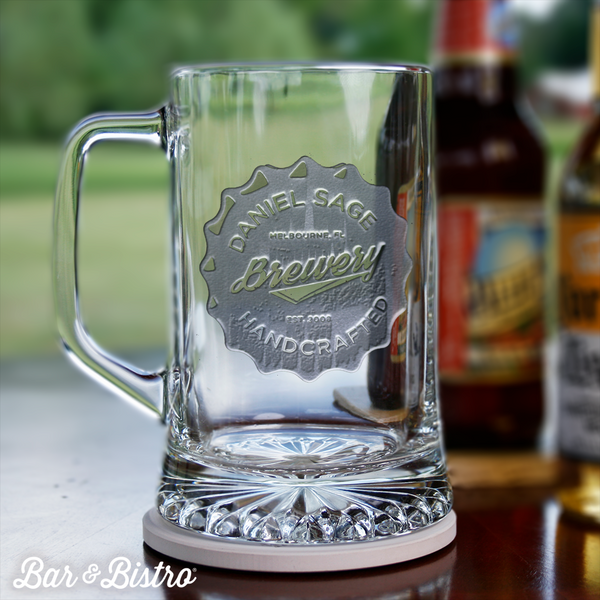 Bottle Cap Beer Mug