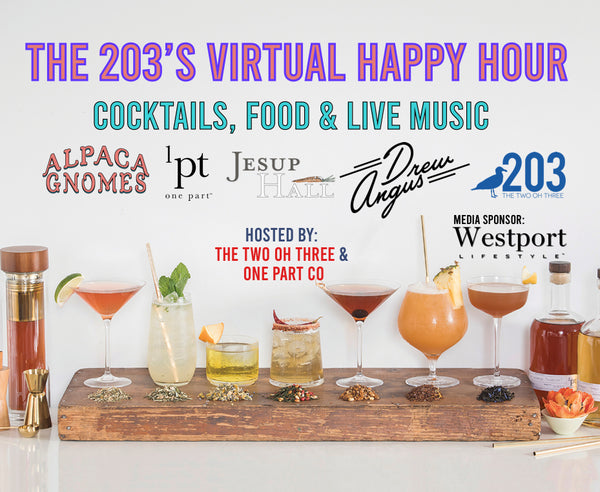 The Two Oh Three's FIRST ever Virtually Happy Hour!
