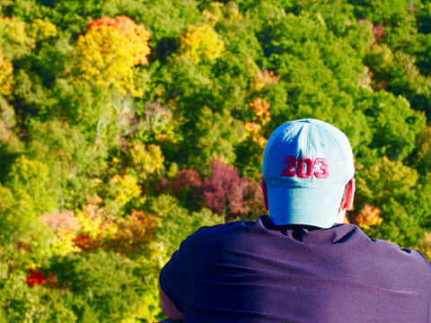Fall Hike in Connecticut in 203 Baseball hat