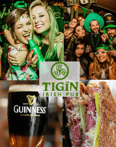 St Patty's Day in Stamford CT - Tigin's Irish Pub Shenanigan's Irish Party