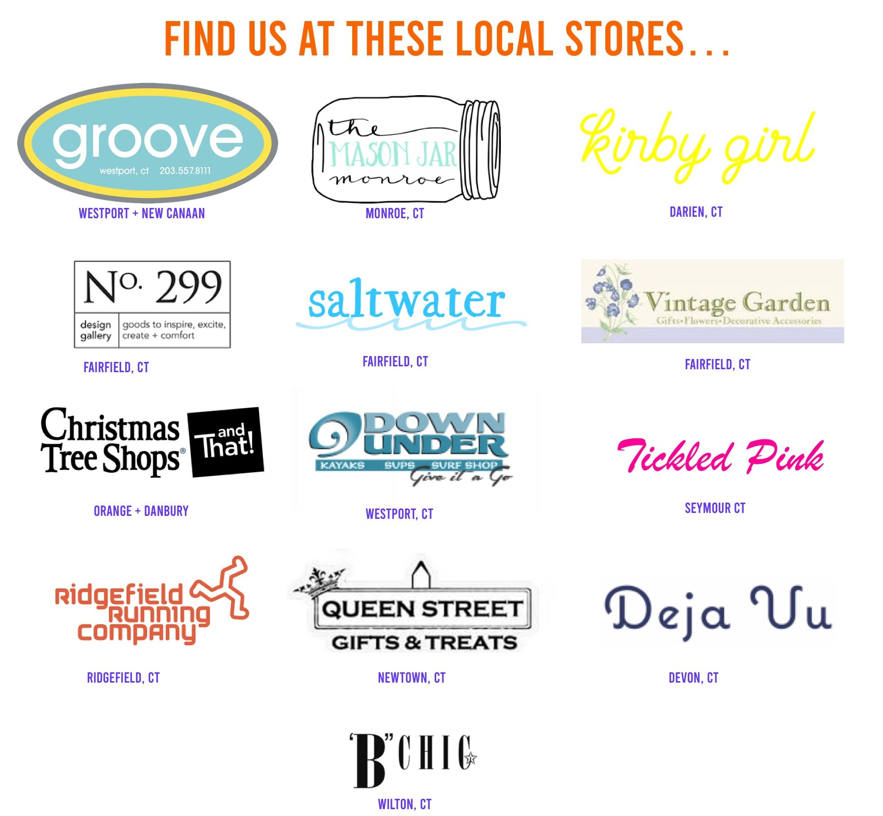 Find The 203's Products at a local CT retail store near you.