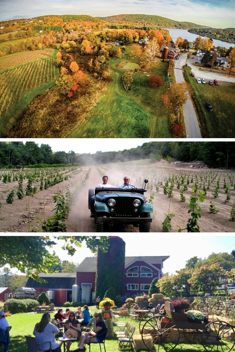 The Twoohthree's Fall Bucket List: CT Vineyard Tour