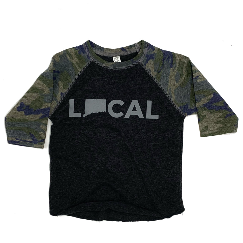 The 'Littlest Local' Baseball Tee