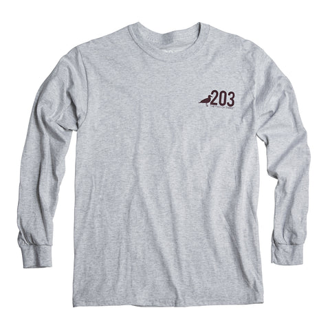 203 Classic Long Sleeve Tee - The Two Oh Three