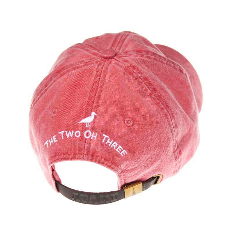 The 203's Classic Embroidered Baseball Cap - The Two Oh Three