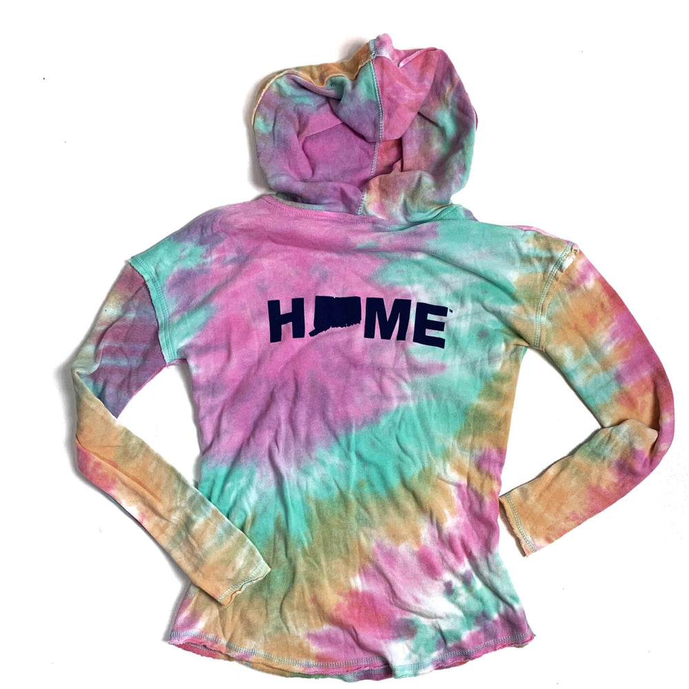 Ladies Tie-Dye Hoodie - The Two Oh Three