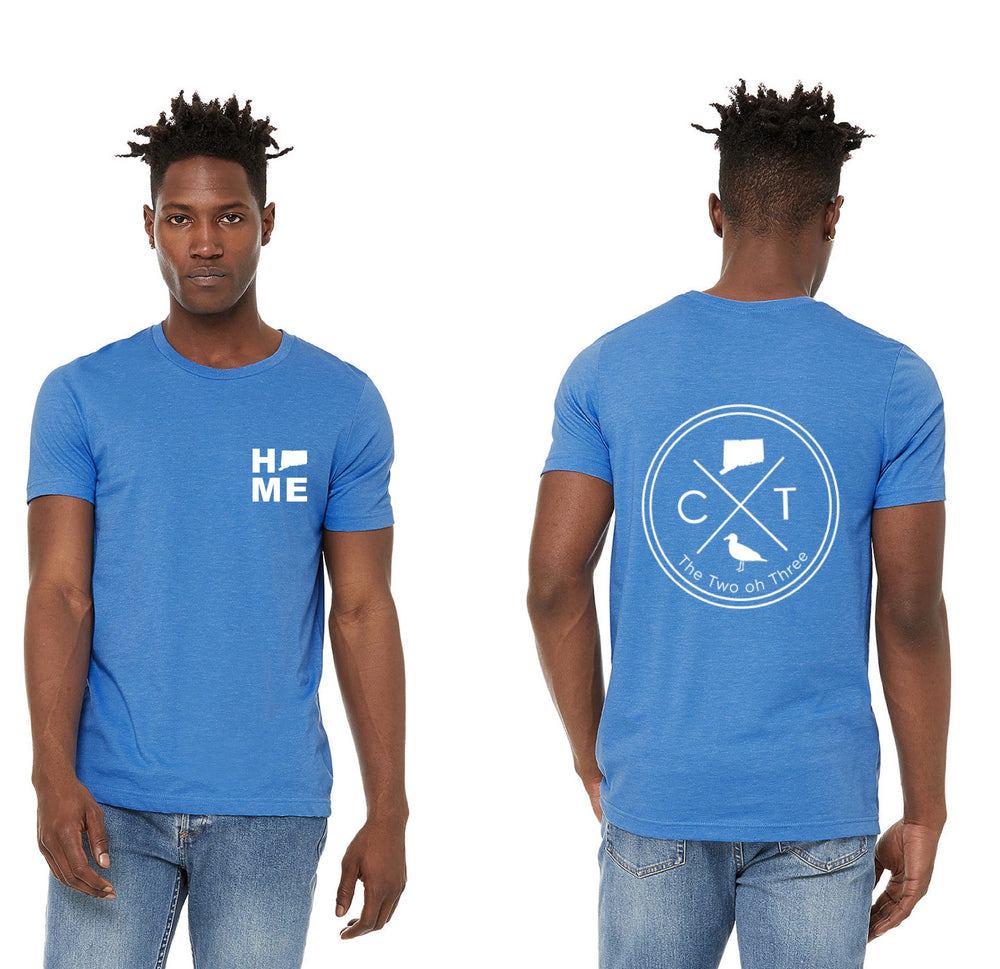 Men's CT Circle T-Shirt (Bright Blue)