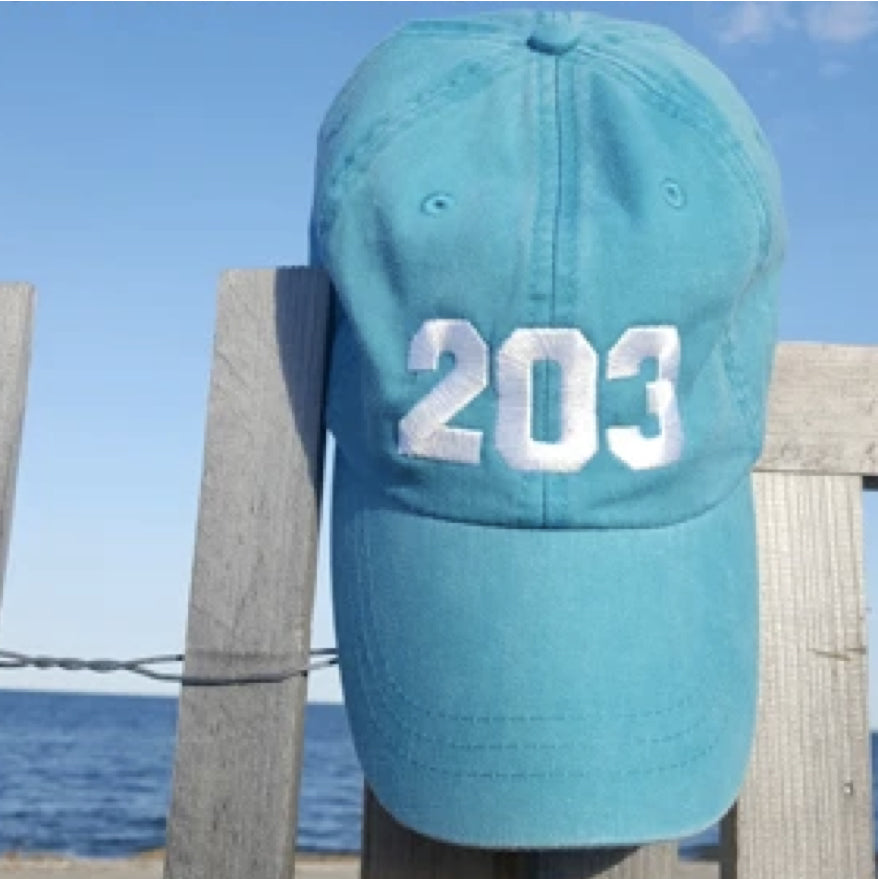 203 X Half Full Baseball Cap - The Two Oh Three