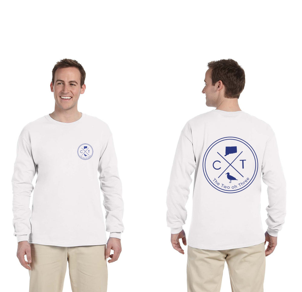 Classic CT Circle Long Sleeve T-Shirt - The Two Oh Three