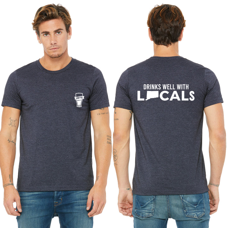 'Drinks Well With Locals' Soft Style T-Shirt - The Two Oh Three