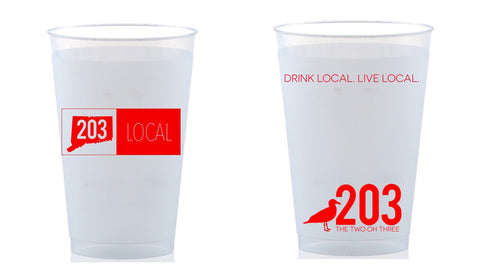 203 LOCAL To-Go Cups (24 oz) - The Two Oh Three