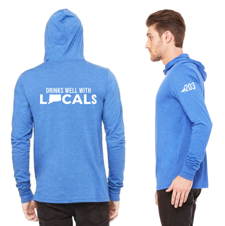 'Drinks Well With Locals' Light Weight Hoodie - The Two Oh Three