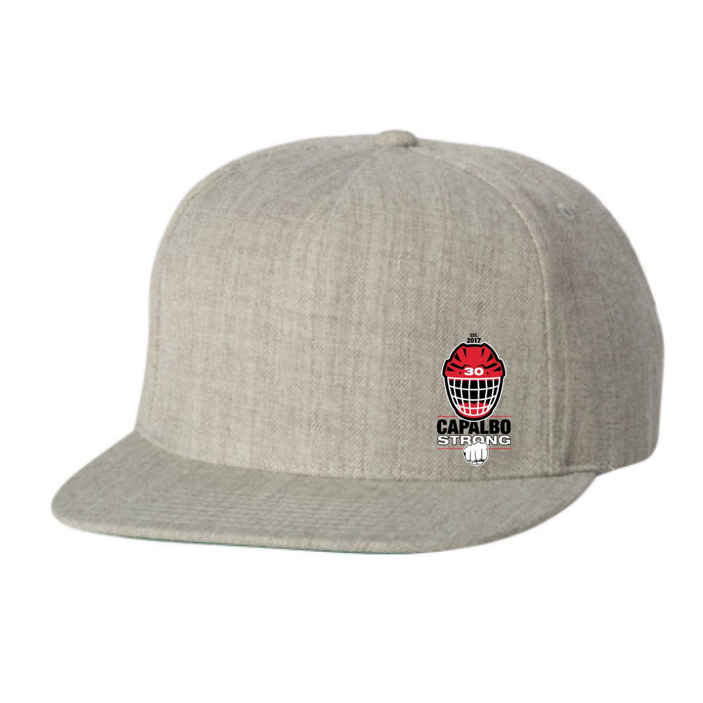 The Charlie --   Capalbo Strong X 203 Flat Brim