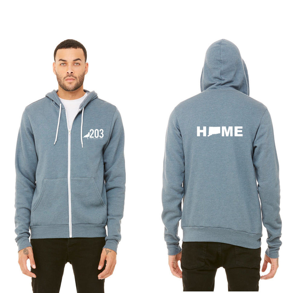 203 HOME Full Zip Sweatshirt