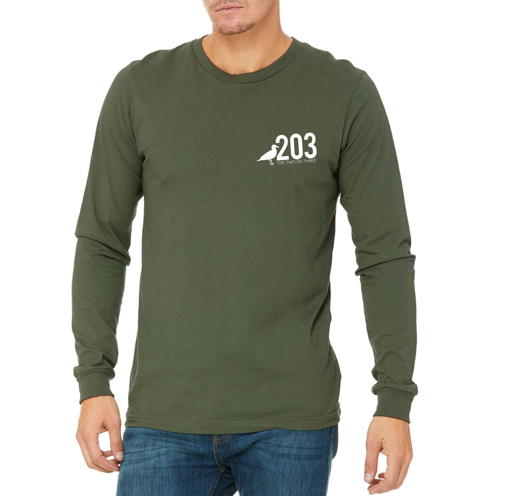 The 203 Local Long Sleeve Tee - The Two Oh Three