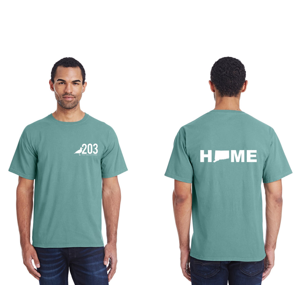 The 203's Connecticut HOME T-Shirt (short sleeve)