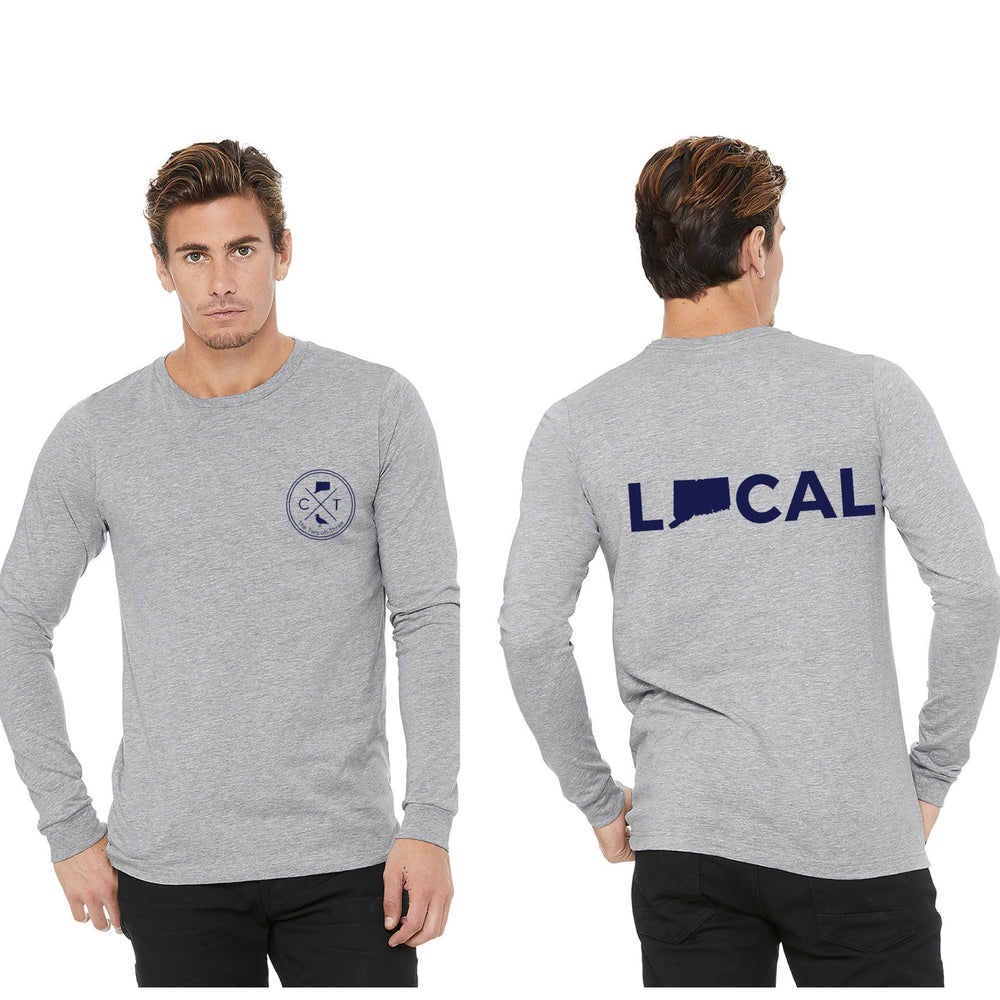 Heathered CT Local Long Sleeve - The Two Oh Three