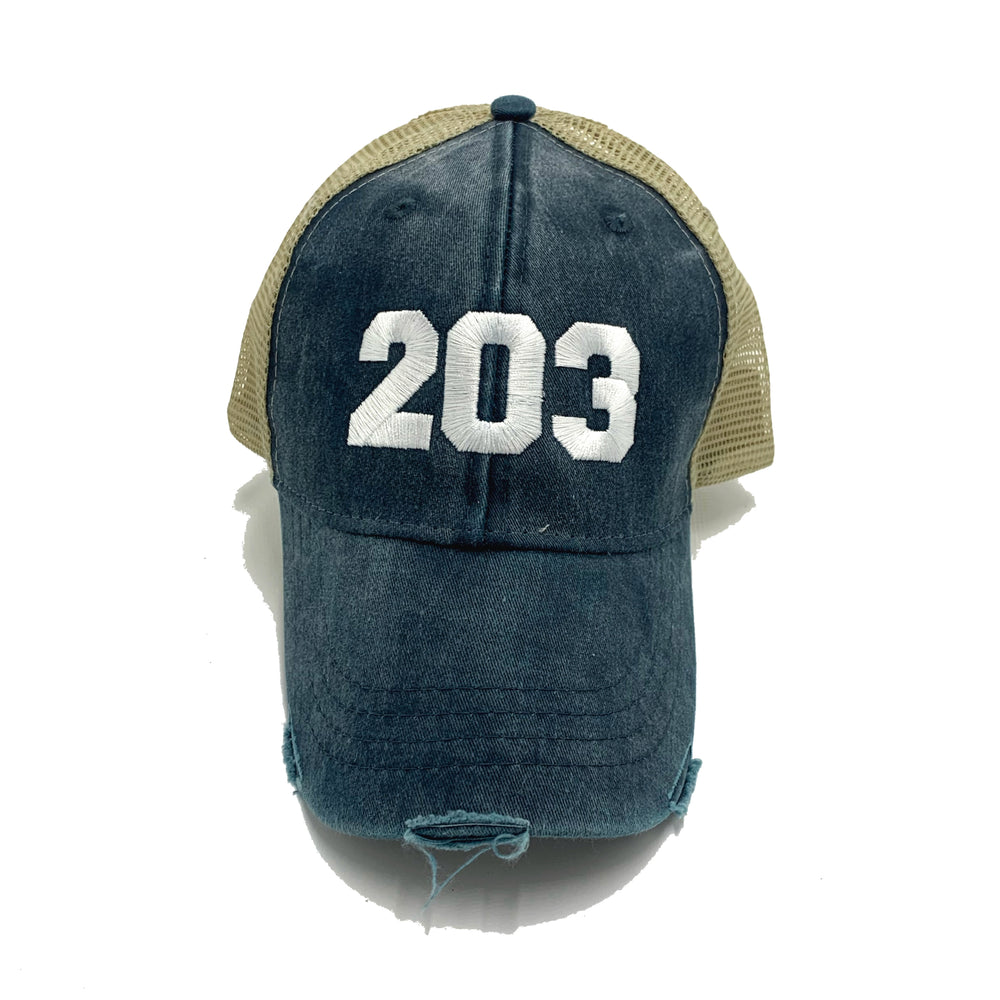The 203's Embroidered Trucker Cap