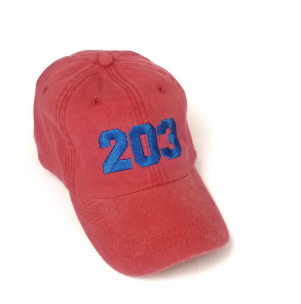 The 203 s Classic Embroidered Baseball Cap - The Two Oh Three 1b9bba3ac27