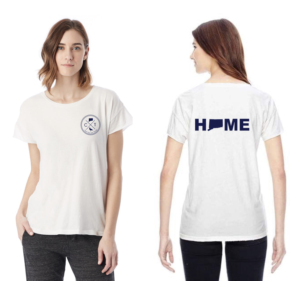 Lady's Home Short Sleeve Summer Tee - The Two Oh Three