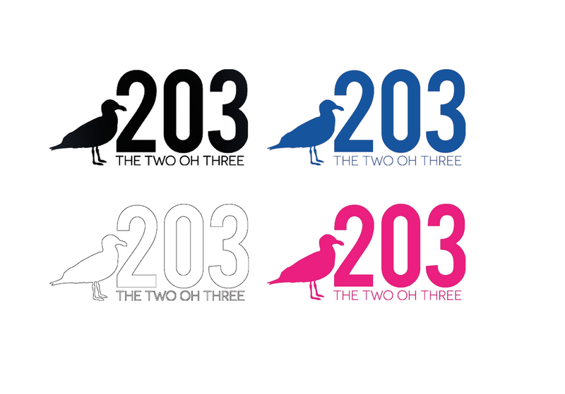 203 Vinyl Decal Stickers - The Two Oh Three