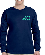 203 Long Sleeve CT Circle Tee - The Two Oh Three
