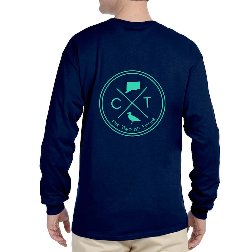 203 Long Sleeve CT Circle Tee