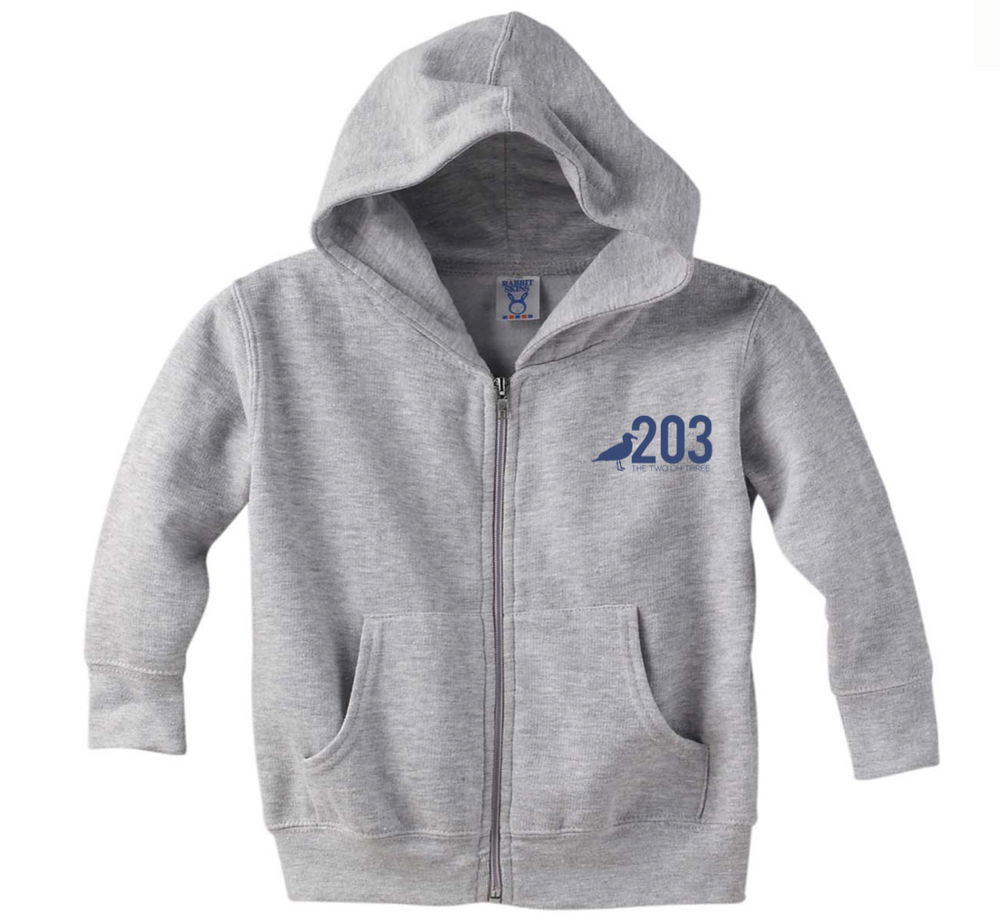 Toddler & Infant Full Zip Hoodie - The Two Oh Three