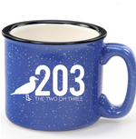 The 203's Classic Camper Mugs