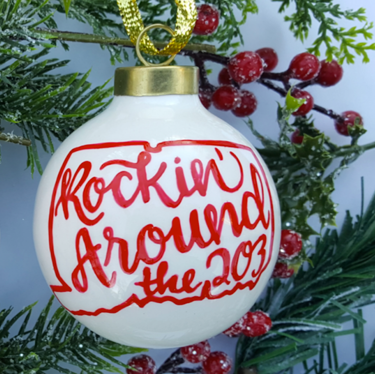 Rockin' Around The 203 Ornament - The Two Oh Three
