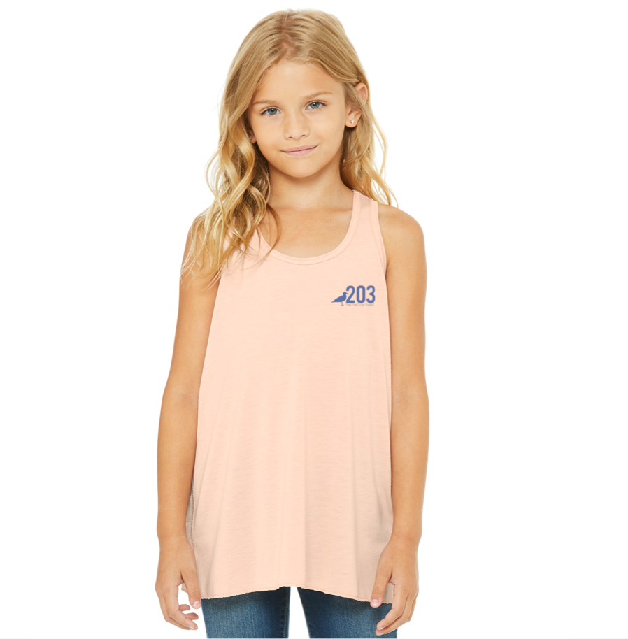 Youth Girls Racer Back Tank - The Two Oh Three