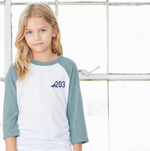 Youth 203 Baseball Tee - The Two Oh Three