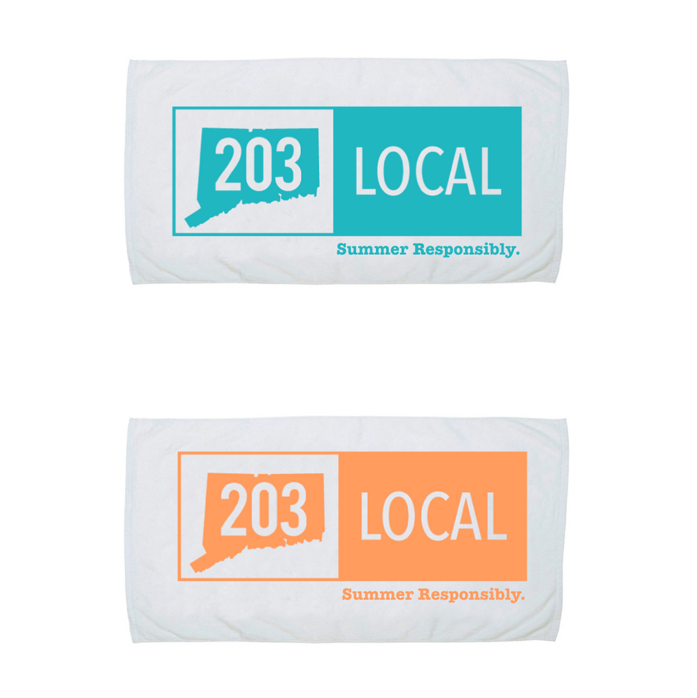 203 Beach/Pool Towel - The Two Oh Three