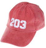 The 203's Classic Embroidered Baseball Cap