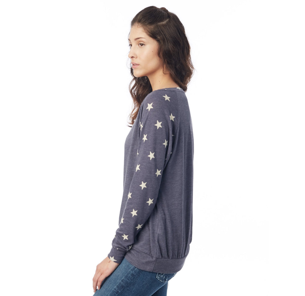 Ladies Stars and stripes Pullover - The Two Oh Three