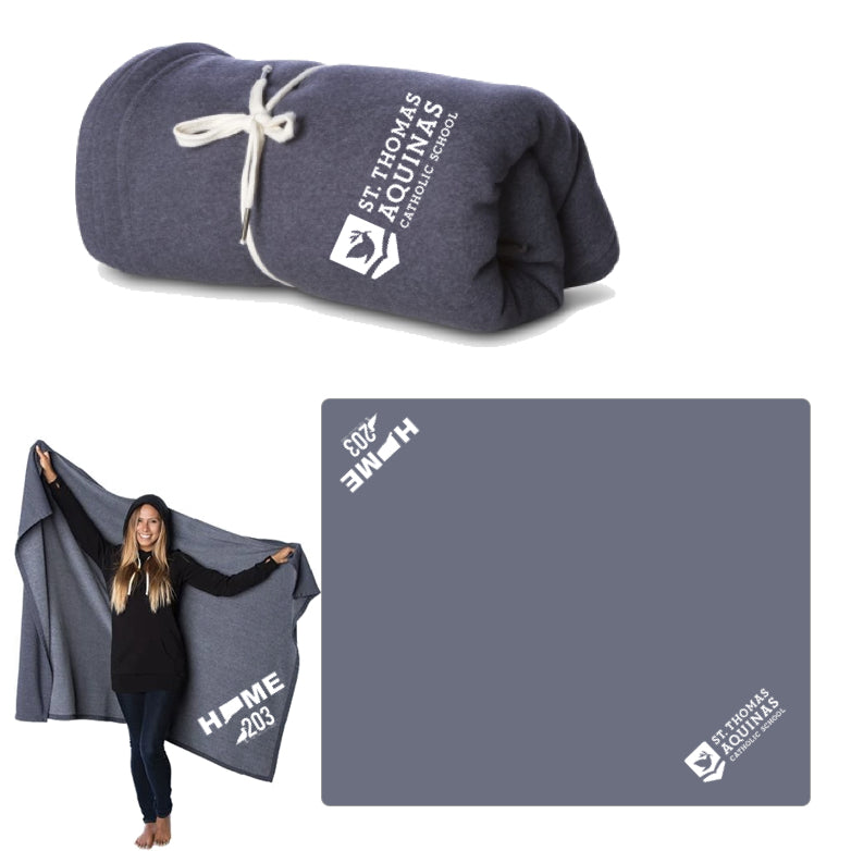 ST Thomas LUXE Sweatshirt Blanket - The Two Oh Three