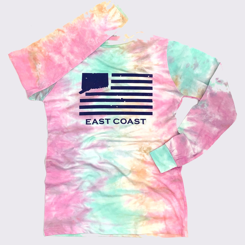 Lady's CT East Coast Tie-Dye Long Sleeve