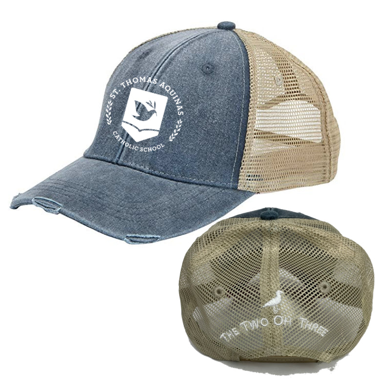 St Thomas Trucker Cap - The Two Oh Three